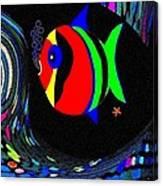 Tropical Cave Fish 2 Canvas Print