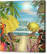 Tropical Delight Canvas Print