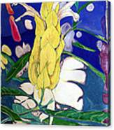 Tropical Evening Canvas Print