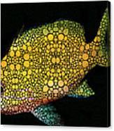 Tropical Fish Art 14 By Sharon Cummings Canvas Print