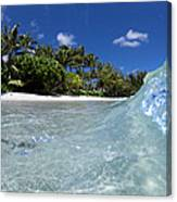 Tropical Glass Canvas Print