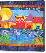 Tropical Harmony Canvas Print