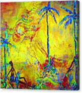 Tropical Heat Wave Canvas Print