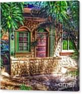 Tropical House Canvas Print