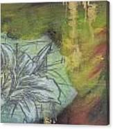 Tropical Lily No.3 Canvas Print