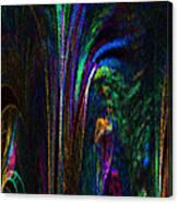 Tropical Moonlight Canvas Print
