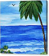 Tropical Path Canvas Print
