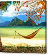 Tropical Peace Canvas Print