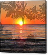 Tropical Spirits - Palm Tree Art By Sharon Cummings Canvas Print