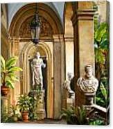 Tropical Veranda Canvas Print