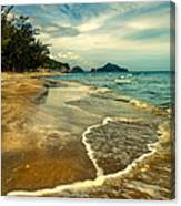 Tropical Waves Canvas Print