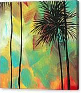 Tropics By Madart Canvas Print