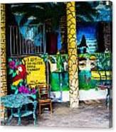 Tropics In Ok Canvas Print