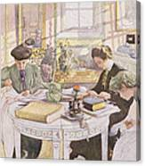 Trousseau, Pub. In Lasst Licht Hinin Canvas Print
