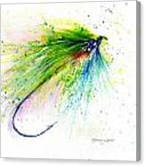 Trout Fly Canvas Print