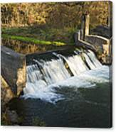 Trout Run Creek Dam 1 Canvas Print