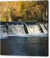 Trout Run Creek Dam 2 Canvas Print
