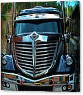Truck Face Canvas Print