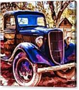 Truck Canvas Print