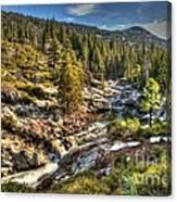 Truckee River  Canvas Print