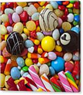 Truffles And Assorted Candy Canvas Print