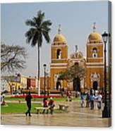 Trujillo Peru Plaza Canvas Print
