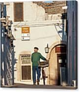 Trulli Houses Alberobello Apulia Puglia Canvas Print