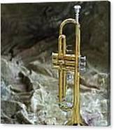Trumpet N Canvas Canvas Print