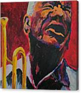 Trumpeter Shades Of Red Canvas Print