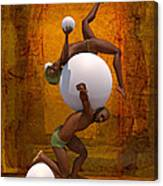 Trust-spheres Canvas Print