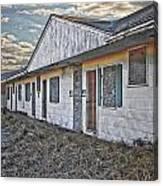 Truro Motel Canvas Print