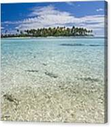 Tuamatu Islands Canvas Print