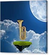 Tuba Dreams Canvas Print