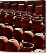 Tubac Pottery Factory Canvas Print