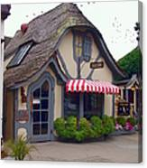 Tuck Box Tearoom - Carmel California Canvas Print