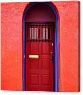Tucson Doorway Canvas Print