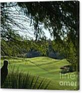 Tucson Foothills Golf Course Canvas Print
