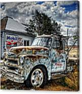Tucumcari Towing Canvas Print