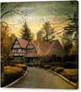 Tudor Road Canvas Print