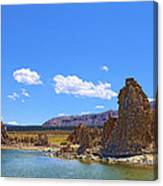 Tufa Rock At Mono Lake Canvas Print