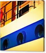 Tug Abstract Canvas Print
