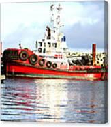 Tugboat Captain Canvas Print
