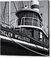 Tugboat Helen Mcallister II Canvas Print