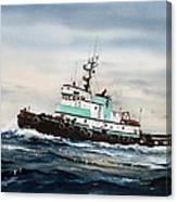 Tugboat Island Champion Canvas Print