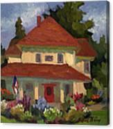 Tukwilla Farm House Canvas Print