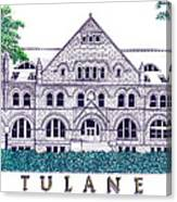 Tulane Canvas Print