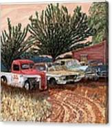 Tularosa Motors Canvas Print