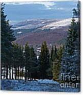 Tulchan Estate - Early Winter Canvas Print