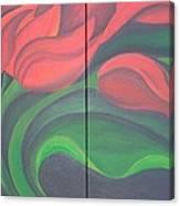 Tulip Diptych Canvas Print