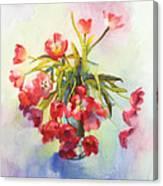 Tulip Fling Canvas Print